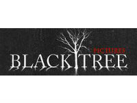 Black Tree Logo logo